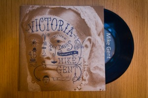 Mike Gent - Victoria - Cover