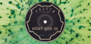 Razors In The Night - Never Give In (2014)