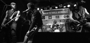 The Warning Shots @ T.T. The Bear's Place 4.18.2015