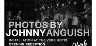 Photos by Johnny Anguish Installation at The Verb Hotel
