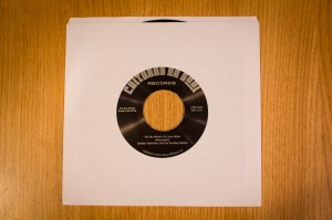 "Jordan Valentine And The Sunday Saints - ""Tell Me What's On Your Mind"" b/w ""Follow Me"" - Sleeve"