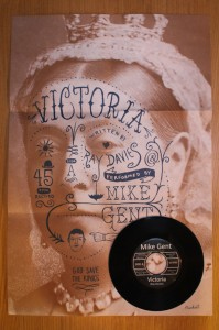 Mike Gent - Victoria - Poster