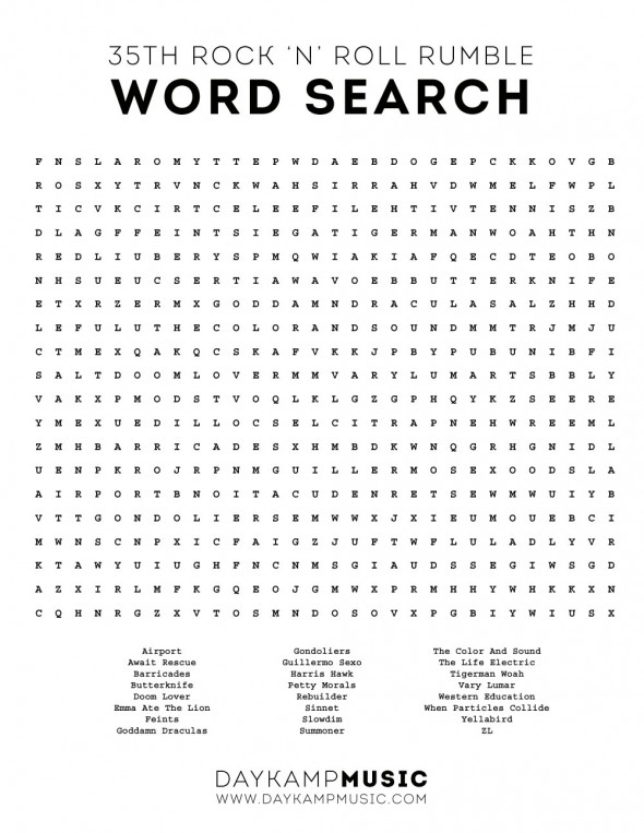 RumbleWordSearch